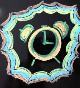 Neon Clock by Katta Hules.