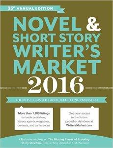 Novel and Short Story Writer's Market 2016