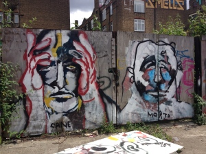 A Cane Morto piece. Hackney Wick, London. 2014. Photo: Katta Hules