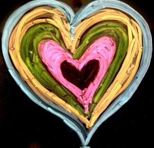 Valentine Heart by Katta Hules.