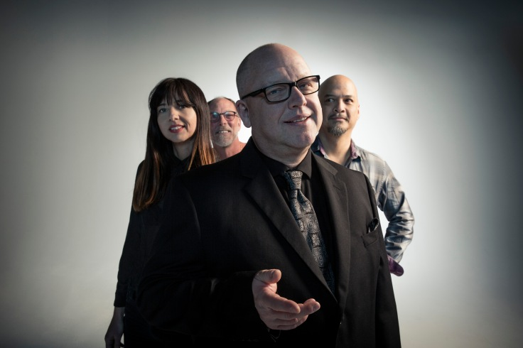 From left:  Paz Lenchantin, David Lovering, Black Francis, Joey Santiago