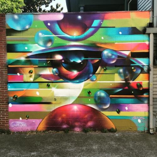 Vyalone mural at 918 24th Street Photo: Dan Tyree